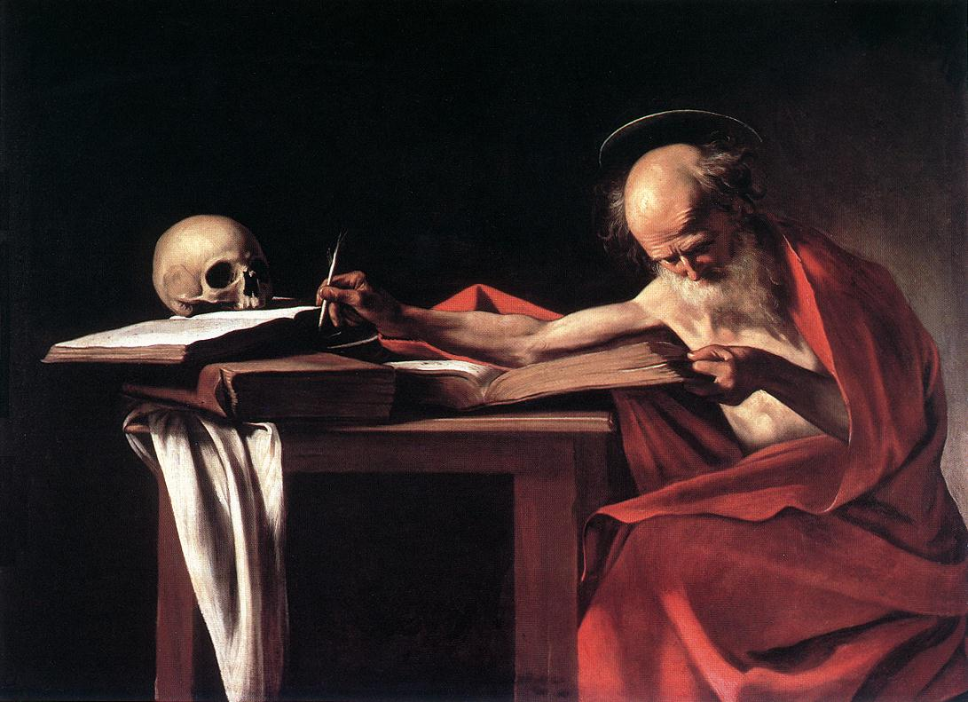 Caravaggio, St. Jerome, 1606
