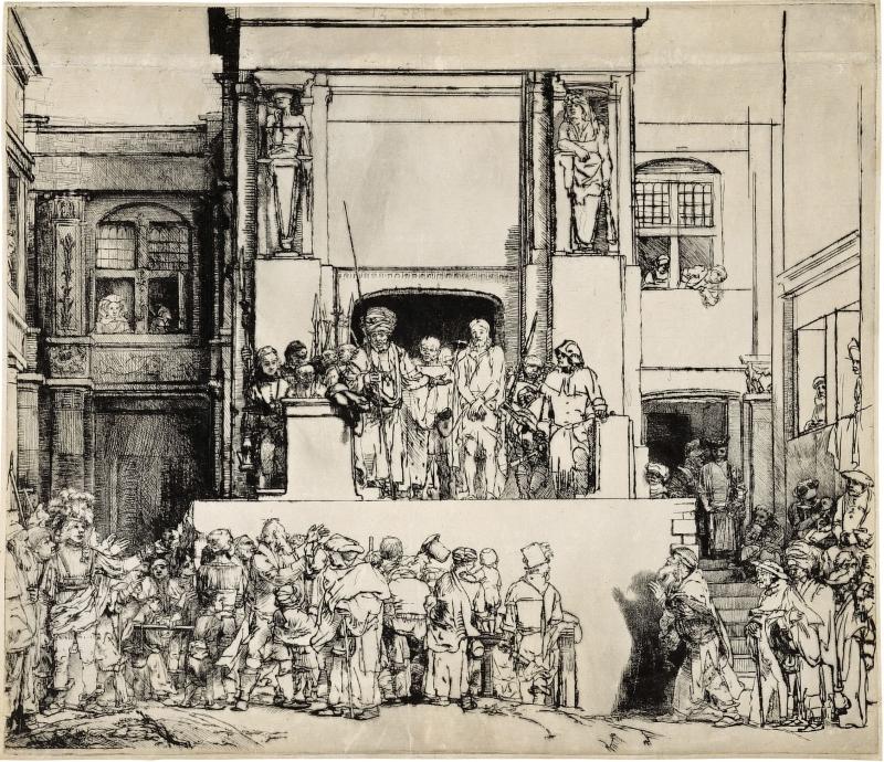 Ecce Homo Rembrandt 2