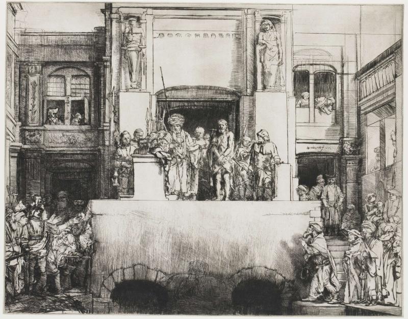 Ecce Homo Rembrandt 8