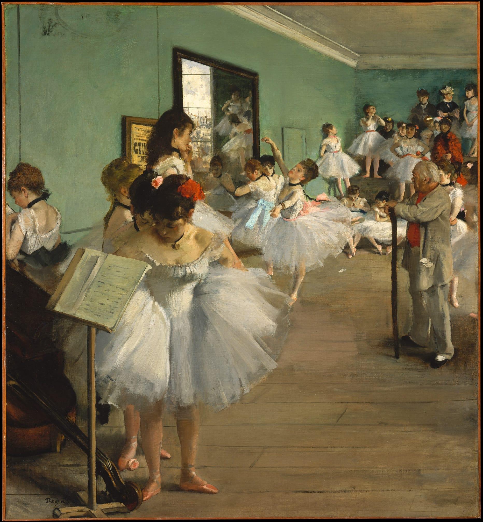 The Dance Class Degas
