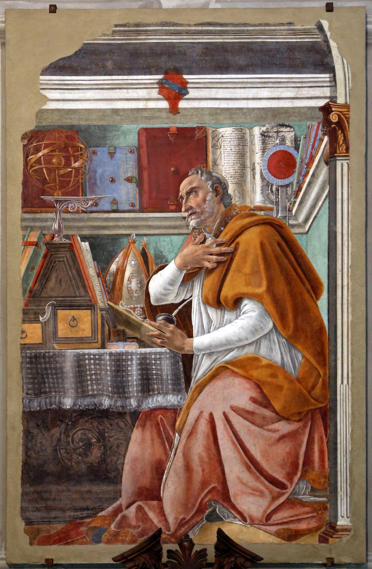 Saint_Augustine_in_His_Study_-_Botticelli