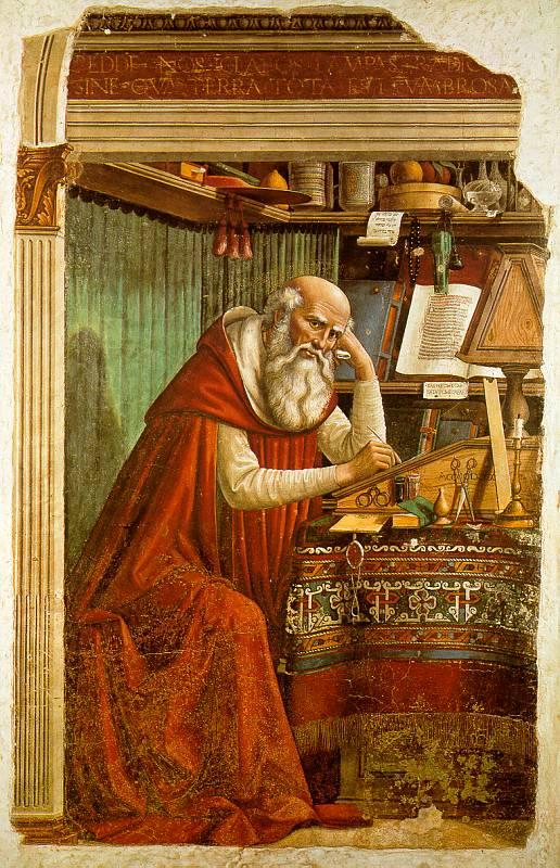 St_Jerome_in_his_study_-_Domenico_Ghirlandaio