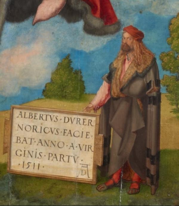 Albrecht_Durer_-_Adoration_of_the_Trinity_self_portrait