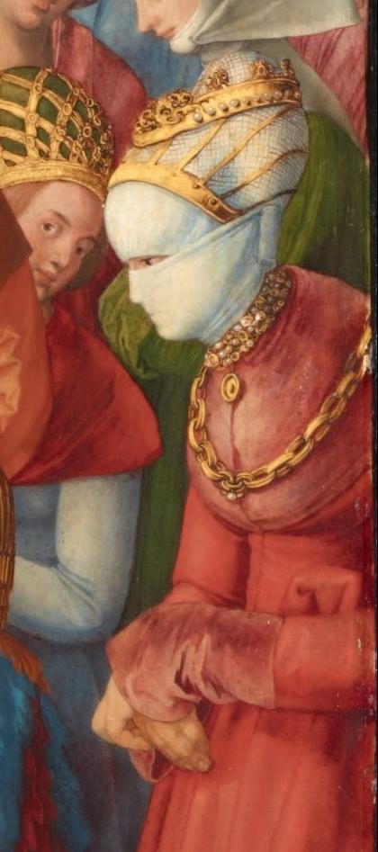Albrecht_Durer_-_Adoration_of_the_Trinity_queen