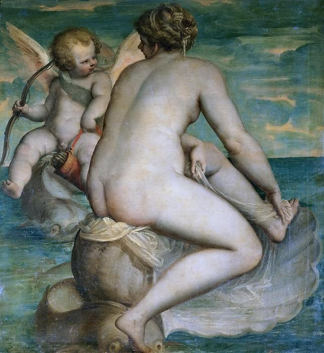 Венера и Купидон у моря