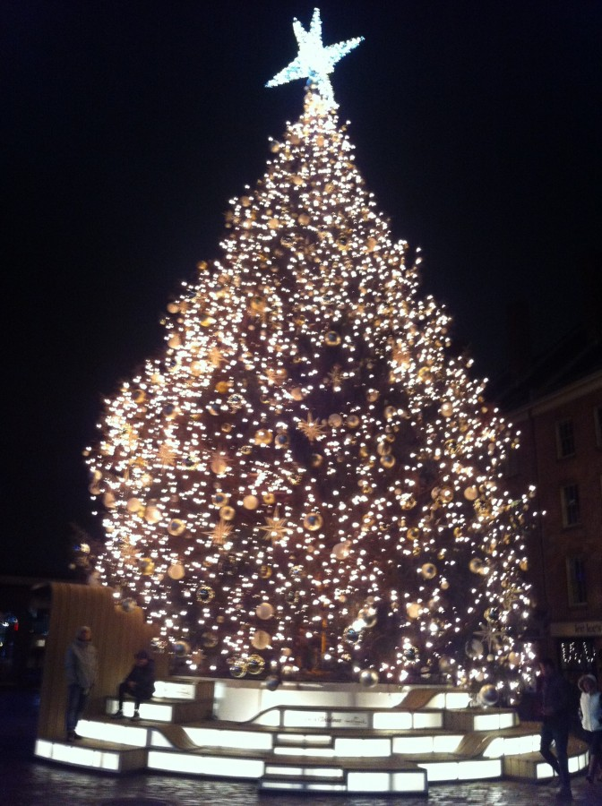 Christmas Tree at South Street Seaport