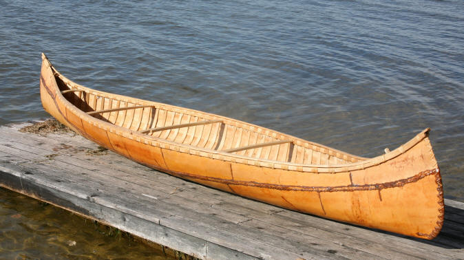 как делают лодки из бересты