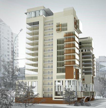 Проектное предложение многоэтажного