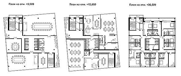 sПланы этажей 2