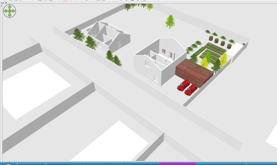 garden plan3D