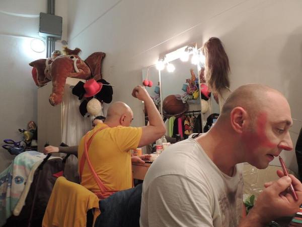 Клоуны в Сочинском цирке