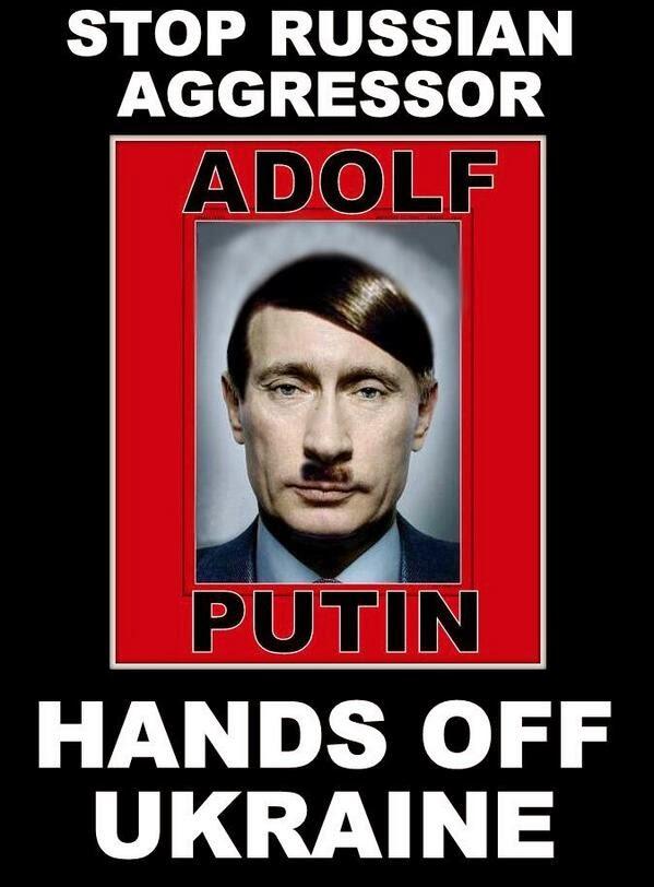 Putin as Hitler