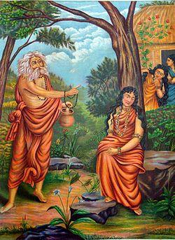 250px-Durvasa_Shakuntala
