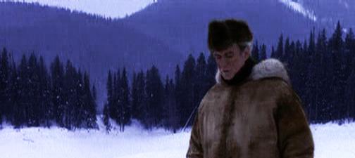 bob in the snow