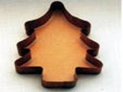 Papierbackform Tanne, 31 x 22 cm, Höhe 6 cm, 5 Stück_7,90€