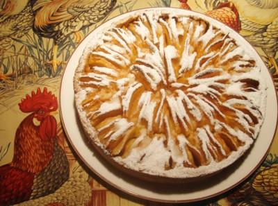 Tarta de manzana de Lieja