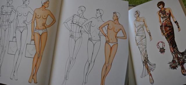 как правильно нарисовать эскиз модели: