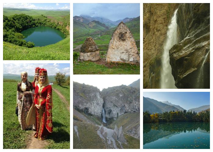 Большое путешествие по Северному Кавказу