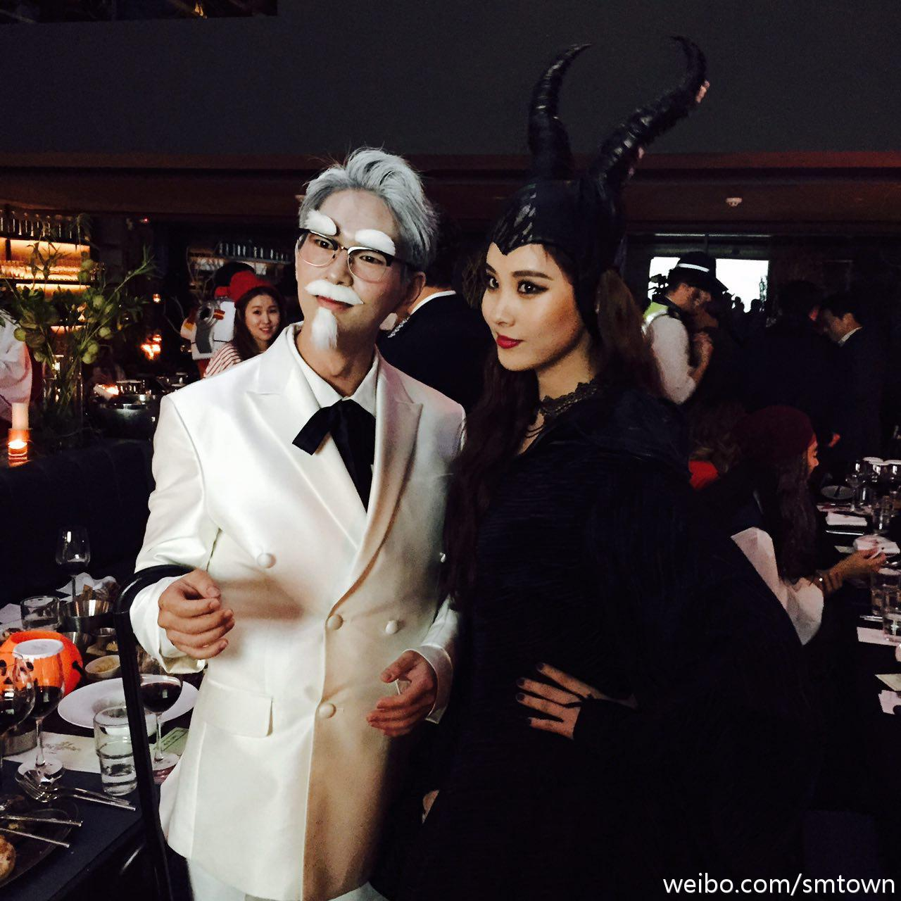 it's time for smtown's annual halloween party~ (very very VERY ...