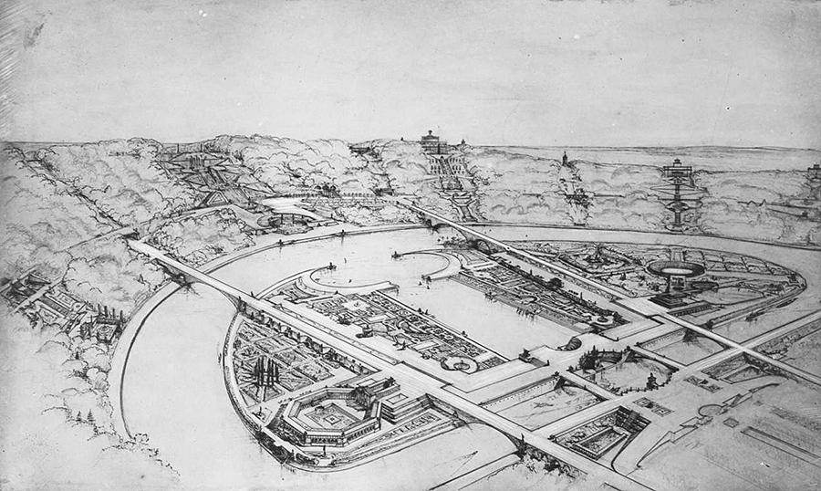 1936 Район Лужники ЦПКиО