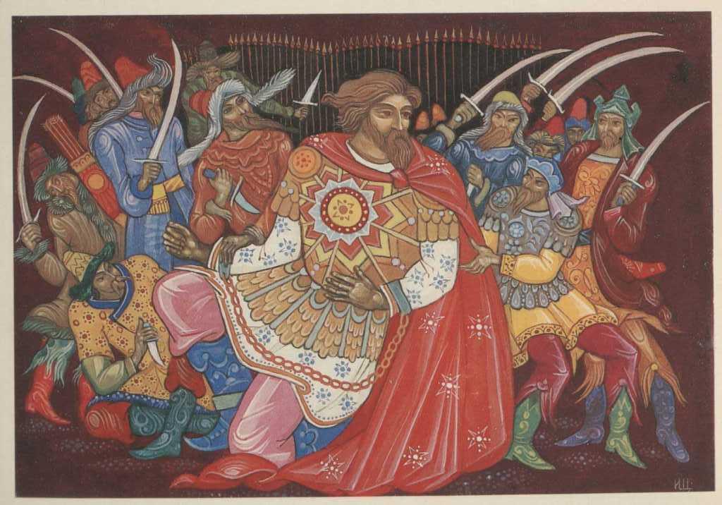 Илья Муромец разбивает татарские полчища