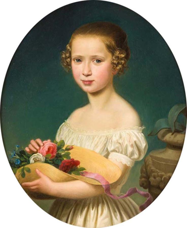PIOTROWSKI, MAKSYMILJAN ANTONI, 1813 - 1875, Harg., 60 - 50 cv- 2700,-€