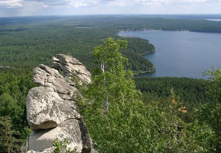 Вид на озеро Аракуль 2