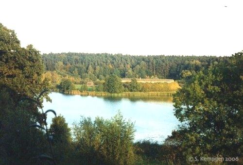 9 вид со стороны озера. Гросс-Раден.