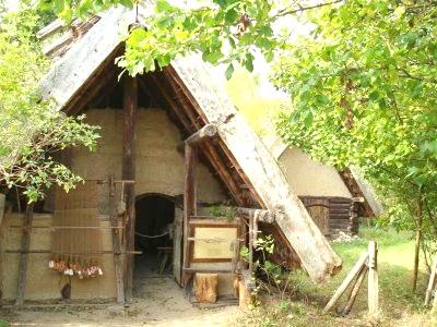 32 дом - славянская деревня-музей Duppel.
