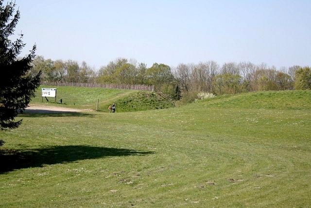 43 Валы крепости oldenburg.