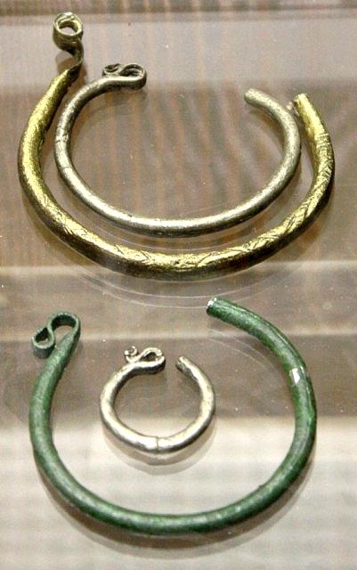 51 Брозовые височные кольца oldenburg