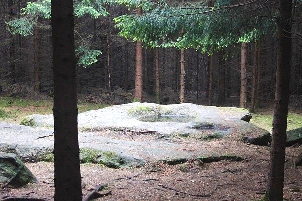 00 камень «жертвеный алтарь» на горе Чернобог