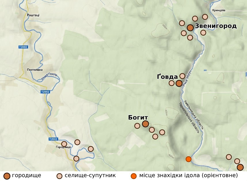Общая карта-схема