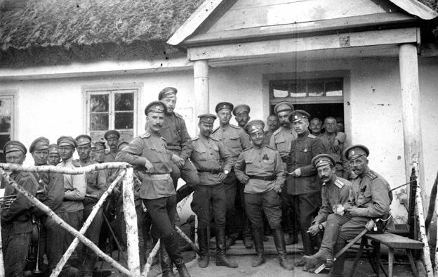 рис 1 На фронтах Первой мировой.