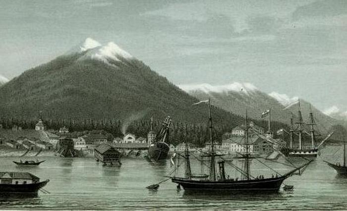 рис 2 Новоархангельск в пер. пол. XIX века