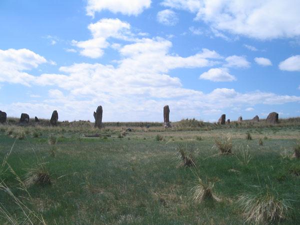3-А это руинированные остатки величайщего кургана Южной Сибири