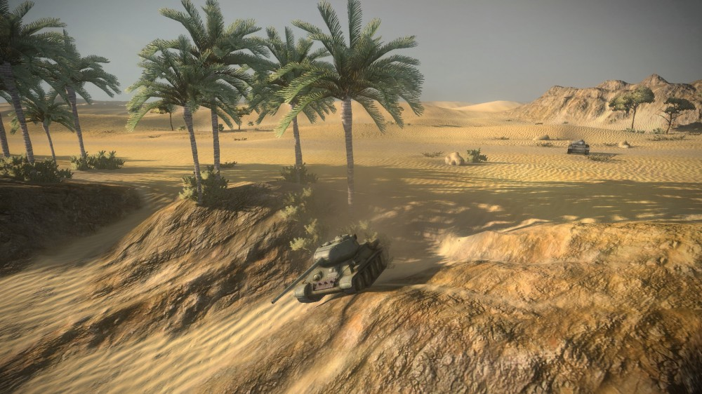 Тест Новой Физики World Of Tanks 2015