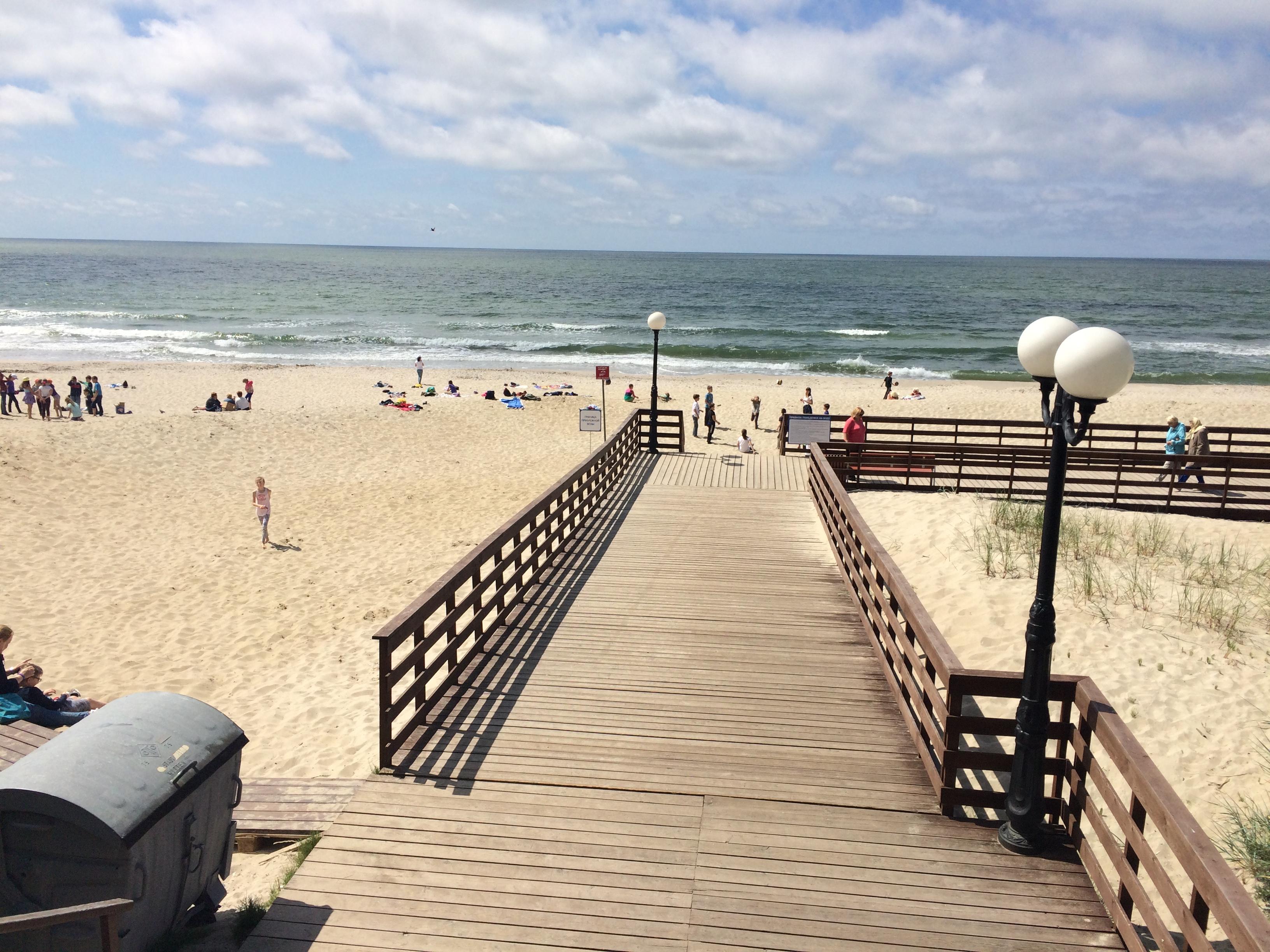 янтарный пляж фото качестве утюга люди