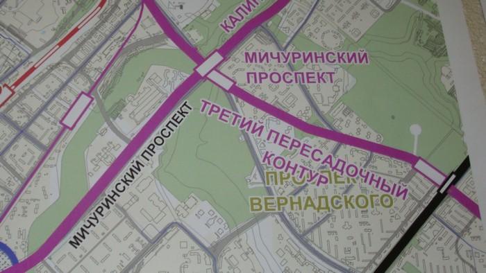 метро в районе Проспект