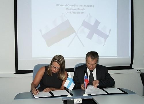 Подписание Соглашения между Администрациями связи России и Финляндии