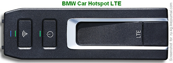 BMW Car Hotspot LTE