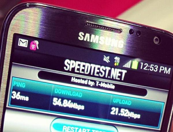 T Mobile USA LTE start speedtest 27032013