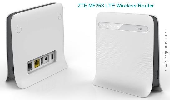 ZTE MF253 LTE Wireless Router