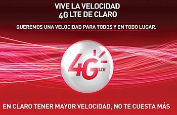 Claro Colombia LTE start