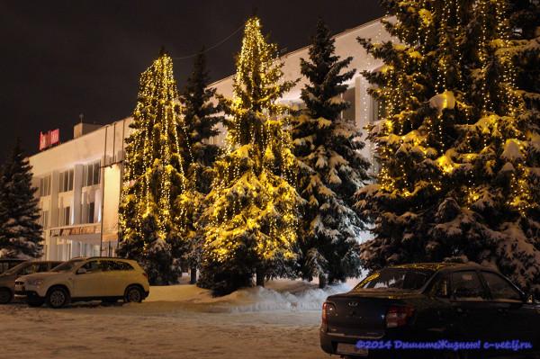 Зимний Ижевск