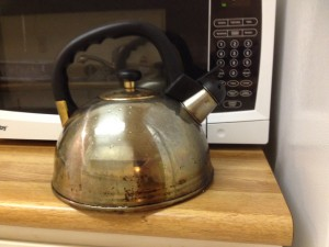 Disaster Kitchen Kettle - 1
