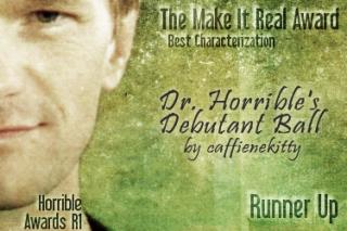 Runner-Up: Doctor Horrible's Debutant Ball