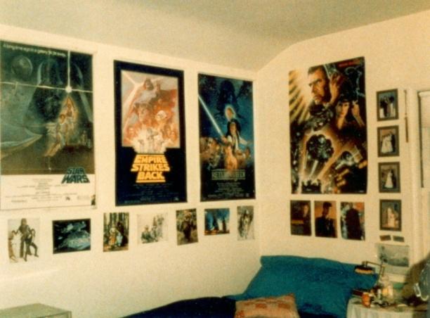 my high school room