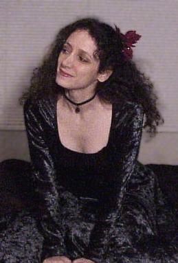wearing velvet