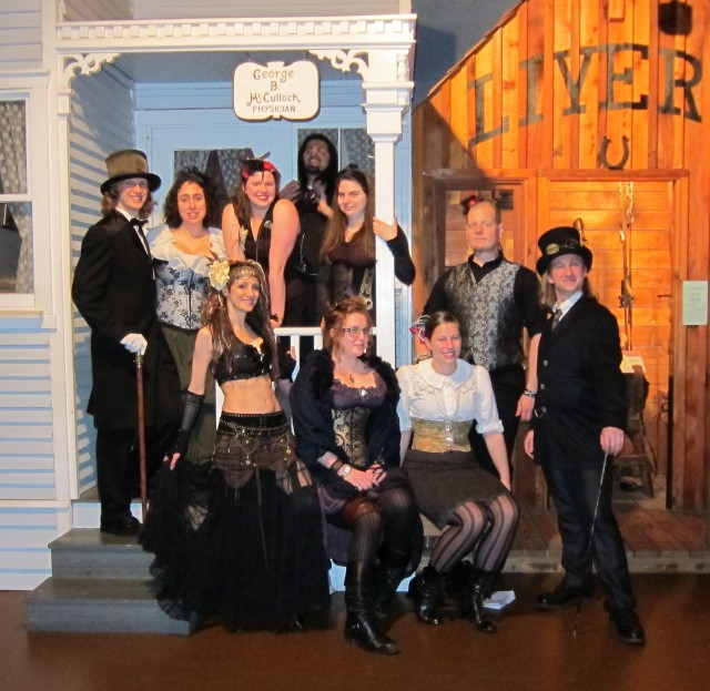 Steampunk Exhibition Ball 2012